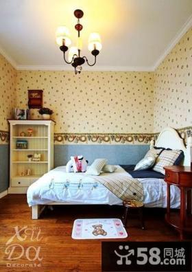 2013年儿童卧室壁纸装修效果图