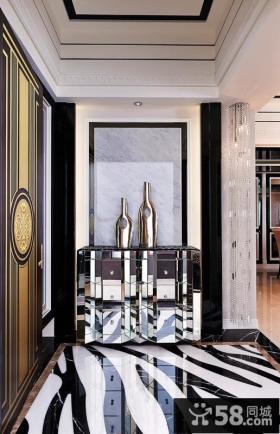 现代家居风格装修玄关图片欣赏