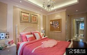 130平米装修样板房卧室装修效果图片
