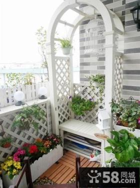 小阳台家庭园艺装修效果图大全
