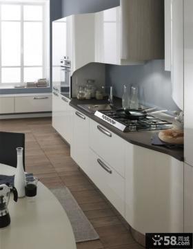 简约现代厨房橱柜图