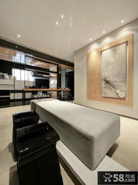140平米现代大户型四居室内装修图欣赏