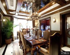 餐厅吊顶灯造型设计效果图