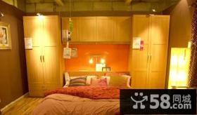 简约风格卧室整体衣柜内部设计图