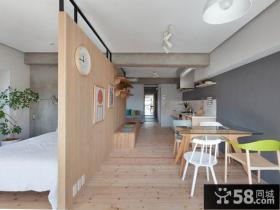 日式温馨餐厅家居室内装饰效果图片