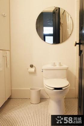 70平米小户型装修 卫生间瓷砖效果图