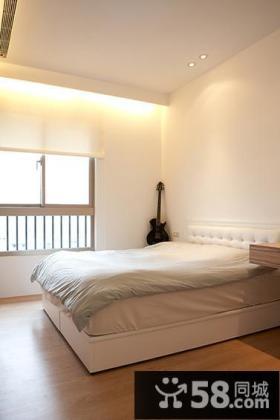 小户型卧室简约装修图片