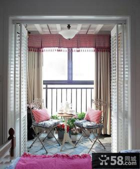 室内小阳台装修效果图欣赏