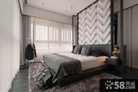 10平米现代风格卧室图片欣赏