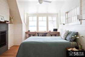 卧室装修效果图大全2012图片 北欧风情