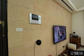 简约大气的电视背景墙