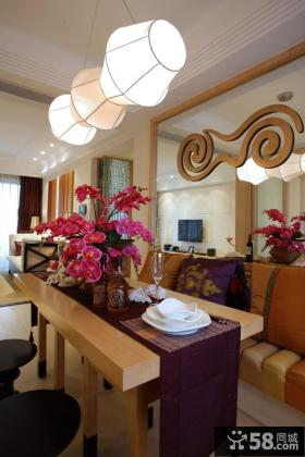 美式风格两居室展示图