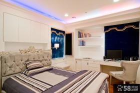 欧式时尚卧室书房设计图大全欣赏