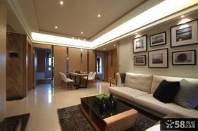 现代风格三房一厅装修效果图
