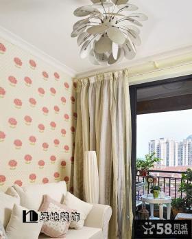 2013优质简约客厅吊顶装修效果图欣赏
