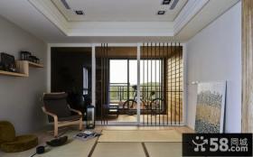家装设计室内阳台榻榻米图片