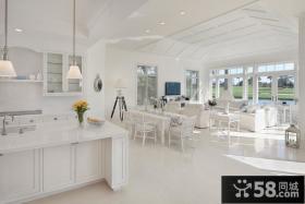 欧式别墅装修效果图 2012客厅装修效果图