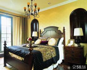 美式乡村风格家居卧室装修图