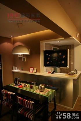 餐厅小黑板装饰效果图