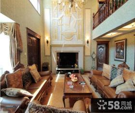 美式风格经典传统别墅装修效果图