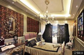 欧式复古风格卧室图片大全欣赏