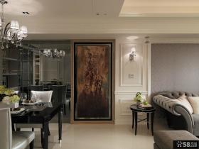 后现代家居客厅餐厅墙面装饰画