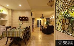 宜家田园风格卧室厨房设计