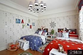 欧式现代风格设计儿童房室内图片