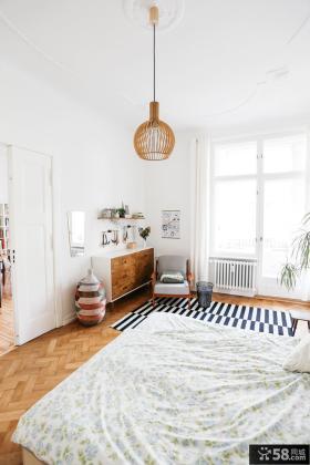 简约素雅风格卧室设计效果图