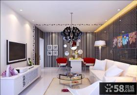 简约现代风格客厅装修效果图大全图片