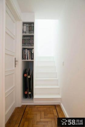 简约时尚楼梯装修图片