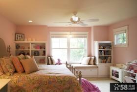 主卧室飘窗装修效果图大全2013图片欣赏