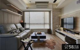 现代设计客厅电视背景墙2015大全