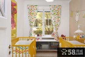 优雅的公寓设计现代风格儿童房飘窗装修效果图大全2014图片