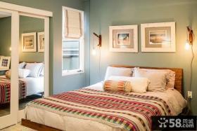 现代时尚风格卧室效果图